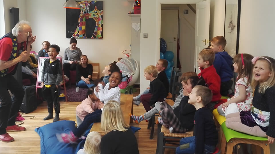 A magic Party for a Family in London